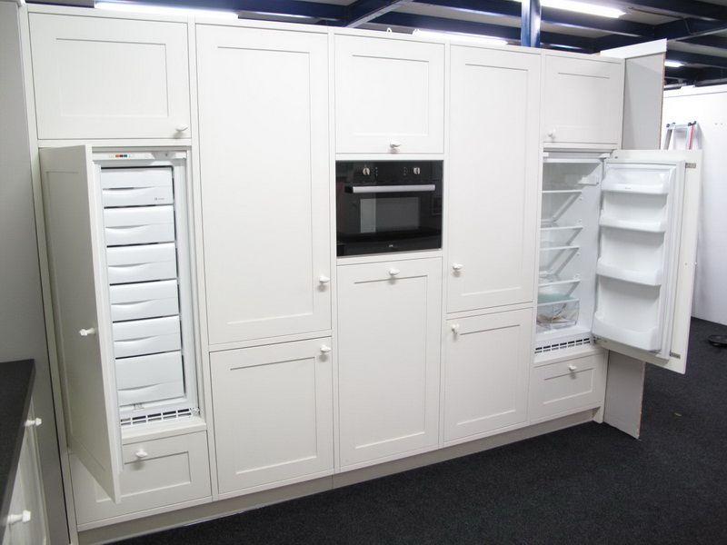 De voordeligste woonwinkel grote klassieke oud witte keuken 26446 - Keuken witte lak ...